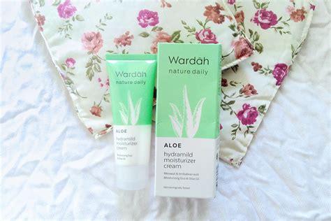 Harga Wardah Aloe Hydramild Moisturizer review wardah aloe vera hydramild moisturizer