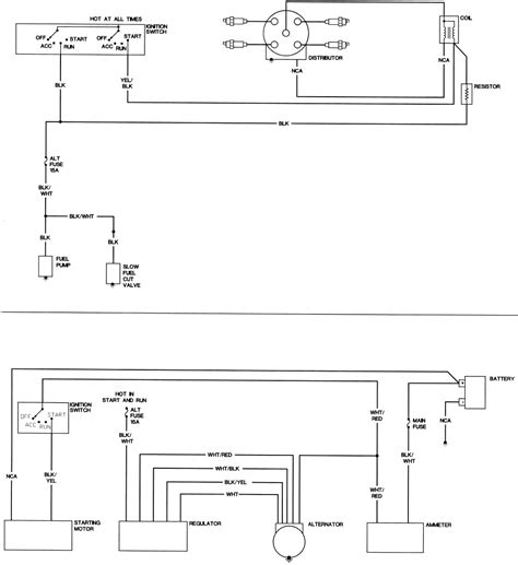 ignition wiring diagram for 1990 mazda b2200 ignition