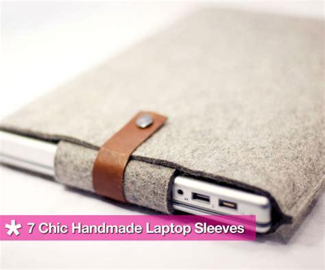 Handmade Laptop Sleeve - seven chic handmade laptop sleeves from etsy popsugar tech