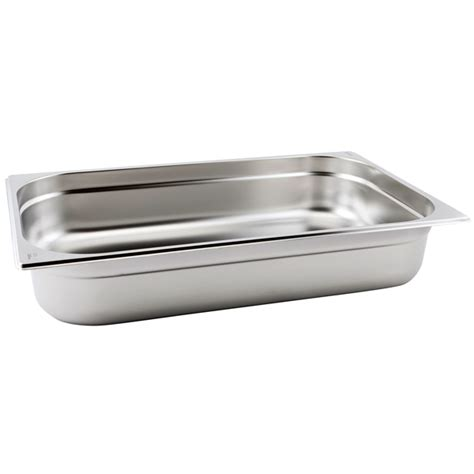stainless steel buffet pans gastronorm pan 1 1 size 100mm stainless steel