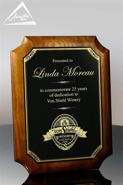 gallica sponsor award plaque awarding you