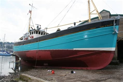 types of fishing boats uk for sale 63 converted scottish fishing wooden motor yacht