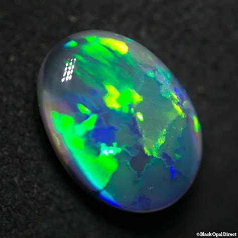Black Opal 10 2 13 ct black opal 10 5x8x4mm black opal direct