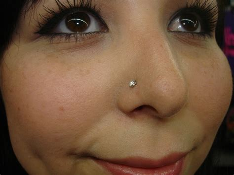 Nose Piercing Types Jewelry Care Pain Healing Time And Piercing