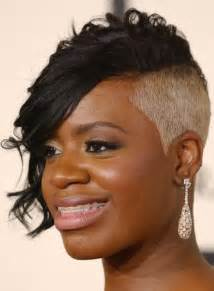 oneside black hair styles fantasia cute hairstyles 2015 for short hair pictures
