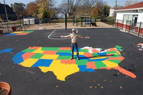 painting school playground 20 cool eagle scout project ideas sponge