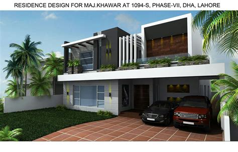 home design architecture pakistan 1 kanal house at dha phase 7 lahore by core consultant