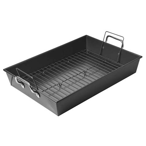 Baking Pan With Rack by New Chicago Metallic Roast Pan Bake N With Roasting Rack