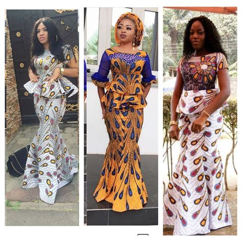 different ankara styles same ankara print with different styles queenie
