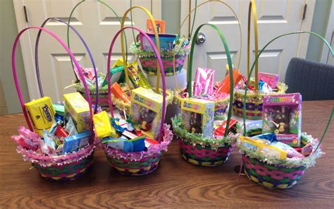 easter basket easter baskets donated to trumbull social services