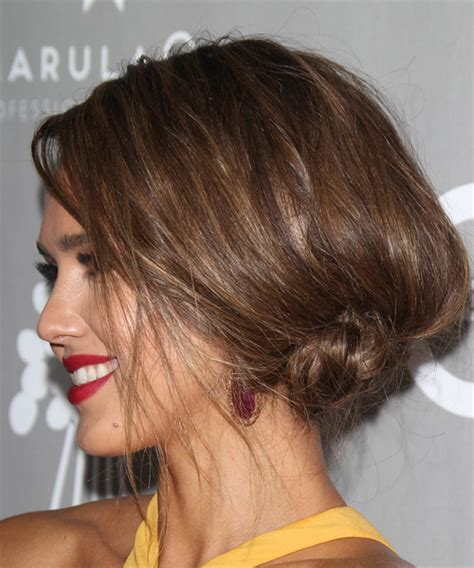 Wedding Hairstyles Alba by Alba Hair Updo Back View