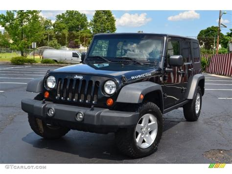 jeep black rubicon 2007 black jeep wrangler unlimited rubicon 4x4 95291943