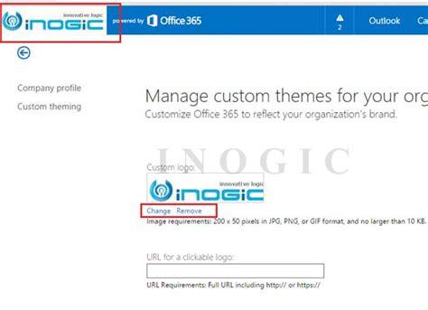 Change Office 365 Portal Theme 6