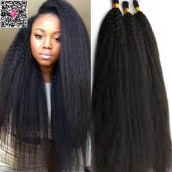 human hair for crocheting compare prices on kinky yaki hair for crochet braids
