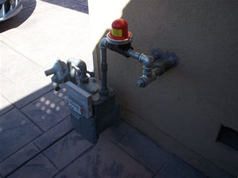 earthquake gas shut off valve residential emergancy automatic gas earthquake shut off