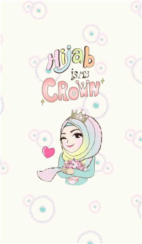theme line umaru line creators themes hijab is my crown