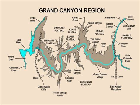 colorado river grand map the grand part 1