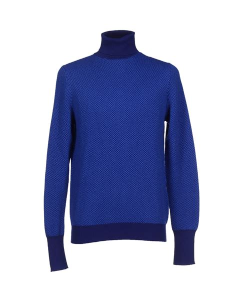 Blue Turtleneck by Lyst Drumohr Turtleneck In Blue For