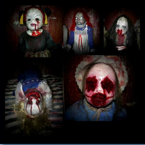 haunted doll escape deadly doll creepy collection haunted house