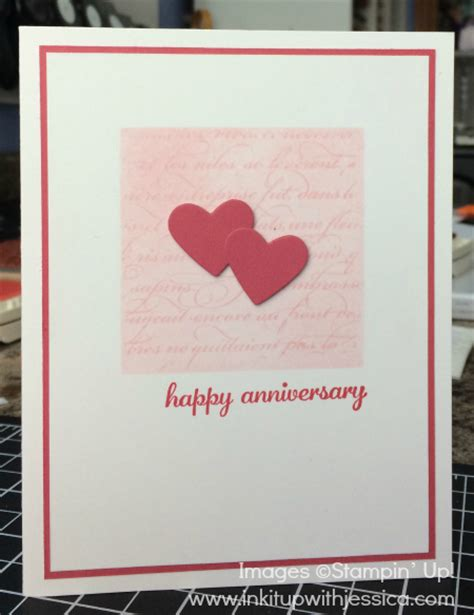 make a anniversary card ink it up with tv episode 3 happy anniversary