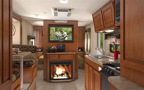 Rv With Fireplace by Five Must Rv Accessories For Families On The Move