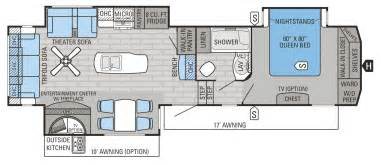 Jayco 5th Wheel Floor Plans by 2016 Eagle Fifth Wheel Floorplans Amp Prices Willies Rv