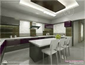 kitchen interior views by ss architects cochin house