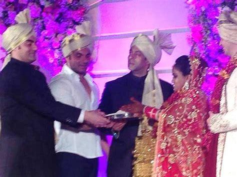 arpita khan wedding card pics arpita khan wedding salman aamir bless the