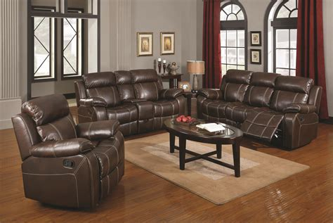 Prime Brothers Furniture by Coaster Myleene Reclining Living Room Prime