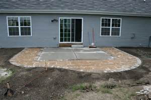 how to extend your patio paver patio homeowner pics lawnsite
