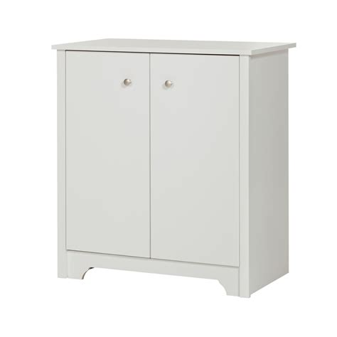 small 2 door storage cabinet south shore vito small 2 door storage cabinet pure white