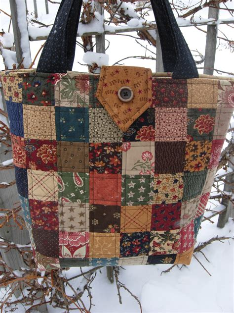 Quilt Purses by Sweet Pea Quilted Tote Bag Purse Patchwork Bag