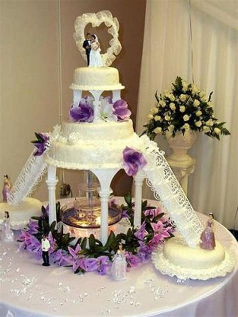 Wedding Cakes With Fountains by Janu Trends Wedding Cakes With Fountains And Stairs