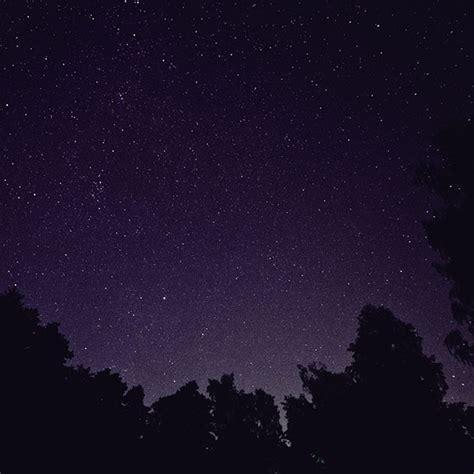 apple wallpaper night sky mt41 starry night sky star galaxy space dark purple