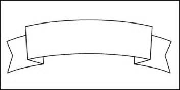 Banner Outline by Scroll Banner Cliparts Co