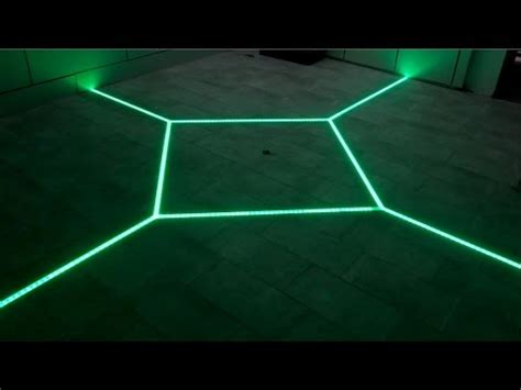 led lights in grout how to led floor tiling system diy your floor