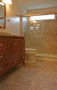 Fairfax small bathroom shower only remodeling