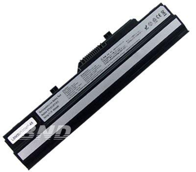msi laptop battery model no bnd u100 laptop battery