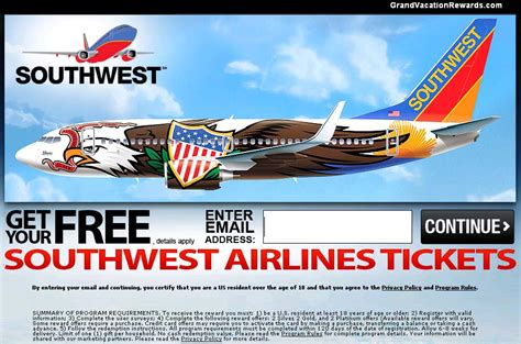 Southwest Ticket Giveaway Facebook - southwest airlines gift card giveaway bogus offer