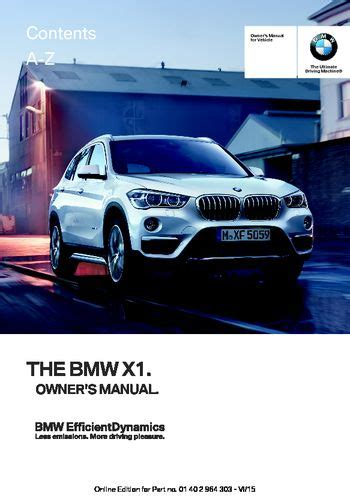 car owners manuals free downloads 2011 bmw 1 series electronic toll collection download 2016 bmw x1 owner s manual pdf 242 pages