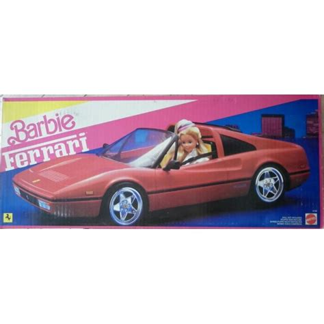 barbie ferrari www oldtoys on line com barbie ferrari car 1986