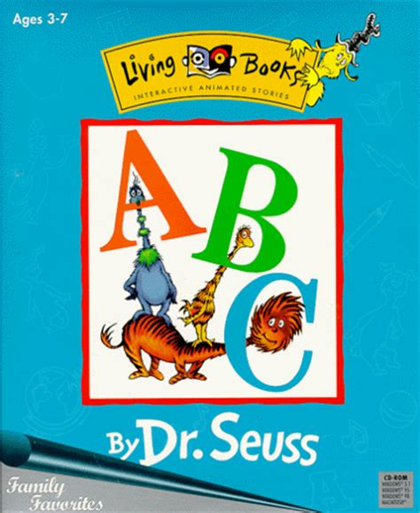 living in books children s software living books abc by dr seuss