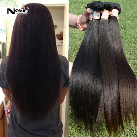 Best Type Of Weave For Relaxed Hair by Cheap Bundles Of Malaysian Hair Weave 4pcs Yaki