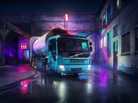volvo trucks launches  electric model