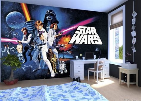 star wars bedroom wallpaper star wars room decor curious ways to make kid s bedroom look awesome home interiors