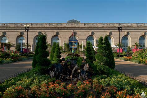 Us Botanic Garden Washington Dc U S Botanic Garden Conservatory Architect Of The Capitol United States Capitol