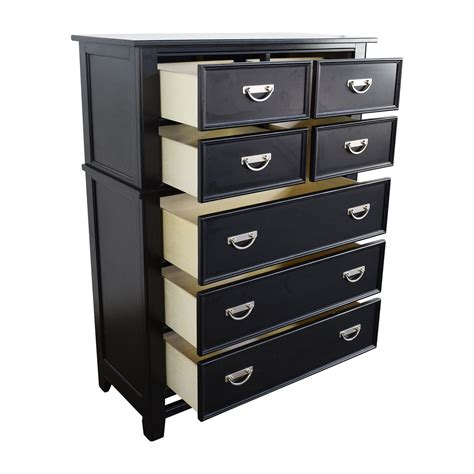 Black Dresser Drawers 56 Klaussner Klaussner Black 7 Drawer Dresser