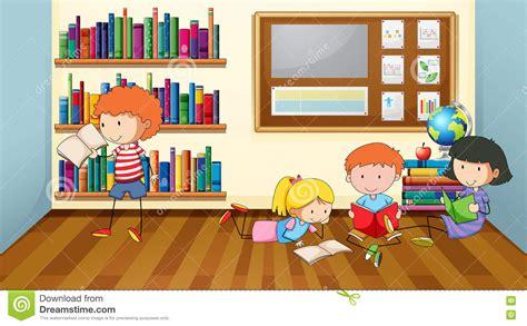 libro the child in time libros de lectura de los ni 241 os en sala de clase ilustraci 243 n del vector ilustraci 243 n de pupila