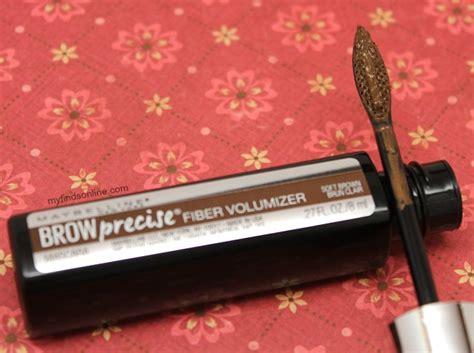 Maybelline Brow Precise Fiber Volumizer Medium Brown maybelline brow precise fiber volumizer myfindsonline