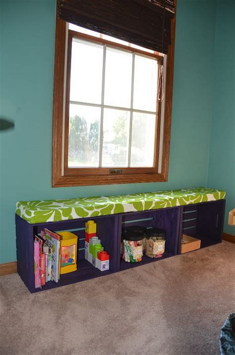 crate bench crate bench crates and bench with storage on pinterest